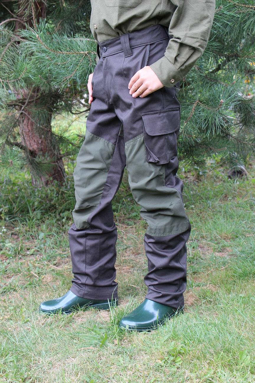 Dětské kalhoty do lesa - Elastik c8d4285fed